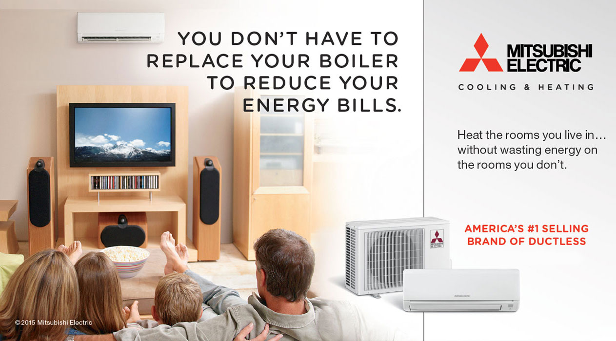Mitsubishi Ductless Another Reason For Ductless Easy Installation Air Repair